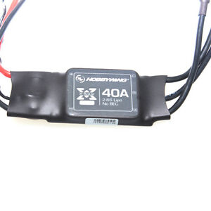 Hobbywing XRotor 40A OPTO Brushless ESC 2-6S for RC Multicopters DJI long wire