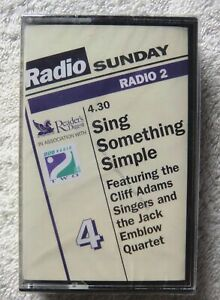 76305 Cassette 4 Sing Something Simple [NEW / SEALED] Cassette Album