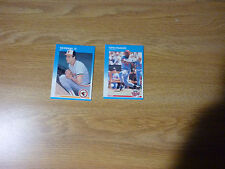 1987 Fleer Cal Ripken Jr. #478 and Kirby Puckett #549 Card Lot