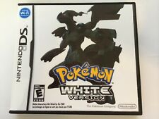Pokemon White Version - Nintendo DS - Replacement Case - No Game