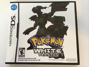 Pokemon White Version - Nintendo DS - Replacement Case - No Game