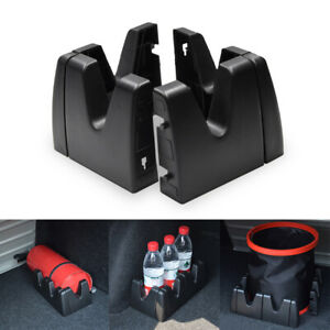 SUV Car Trunk Fixed Type Holder Luggage Stand Fastener Shake Organizer Black
