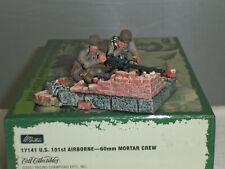 BRITAINS 17141 US ARMY 101ST AIRBORNE MACHINE GUN TEAM METAL TOY SOLDIER SET