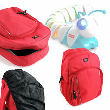 Red Water-Resistant Compact Backpack for Fisher Price Code-a-Pillar Kids Toy