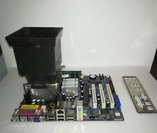 SCHEDA MADRE ASROCK P4I65G  CON CPU RAM E DISSIPATORE