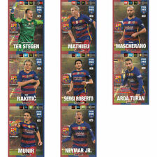 Englische Fußball Trading Cards FC Barcelona