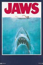 1975 Jaws Vintage Movie Poster Print 24x16 9 Mil Paper