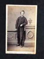 Victorian Carte De Visite CDV: Gent: Bowman: Glasgow: Named BRUCE 1864