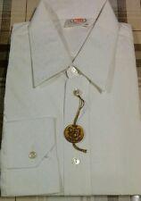 Camicia uomo vintage NUOVA bianca manica lunga taglia  collo 38 CTB