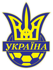 "Ukraine Україна National Football Association sticker decal 4"" x 5"""