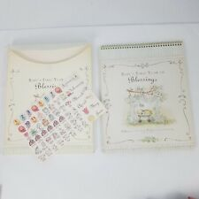 Dayspring 2007 Baby's First Year Blessings Interactive Calendar Case Stickers