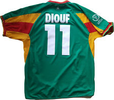 maglia Senegal world cup 2002 home Diouf Home shirt jersey