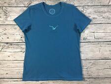 Life Is Good T-Shirt Womens Medium Blue