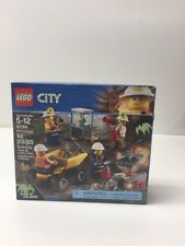NEW NIB LEGO City 60184 Mining Team NISB Factory Sealed