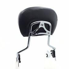 Adjustable Chrome Backrest Sissy Bar w/ pad For Harley Touring Screamin Eagle