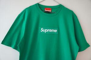 Supreme Grip Italfigo Authentic Green T-Shirt Embroidered Green Supreme Box Logo