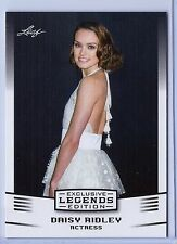 DAISY RIDLEY (REY) LEAF EXCLUSIVE LEGENDS CARD #13! STAR WARS - FORCE AWAKENS!