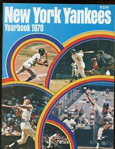 1970 New York Yankees Yearbook April 1st Roster Page EXMT