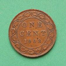 1908 Canada 1 cent SNo43096