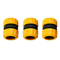 """3Pcs 5/8"""" Garden Water Hose Tap Quick Connector Irrigation Adapter Connector"""