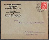 Deutsches Reich, MiNr. 391 EF Rudersberg, Württ. 18.04.1928
