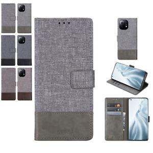 Magnetic Wallet Flip Shockproof Vintage Cover for Xiaomi POCO X3 NFC 11 10T Lite