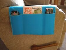 Chair Cozee TV Remote Control Holder Armrest Organizer Caddy-Turquoise