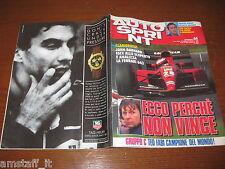 AUTOSPRINT 1991/44=FERRARI 643 JEAN ALESI COVER=JOHN BARNARD=
