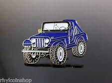 Nuevo Azul Vintage Jeep Pin Insignia