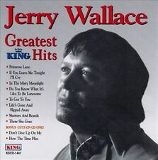 Wallace, Jerry : Jerry Wallace - Greatest Hits [King] CD