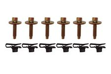1986 1987 1988 1989 MUSTANG FENDER 12 PIECE BOLT AND NUT KIT 1990 1991 1992 1993