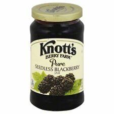 Knott's Berry Farm Pure Seedless Blackberry Jam 16 oz