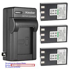 Kastar Battery Wall Charger for NB-1L NB-1LH CB-2L Canon Digital IXUS 500 Camera