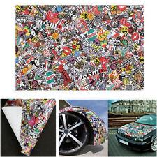20 X 60 Inch JDM Panda Cartoon Graffiti Bomb Vinyl Wrap Sheet Decal Sticker DIY
