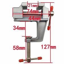 "Mini Tisch Schraubstock 3,5 ""Work Bench Clamp Drehgelenk Vice Craft Repair ToolY"