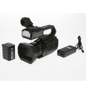 Panasonic AG-CX10 4K 60p Professional Camcorder - (97 Hours) SKU#1378910