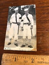 Vintage Original Photo 1946 Italy  2 Navy MP's