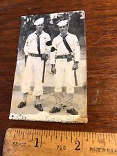 Vintage Original Photo 1946 Italy  2 Navy MP's