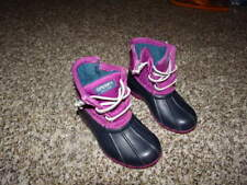 SPERRY TOP-SIDER 7M 7 PURPLE TODDLER GIRLS BOOTS