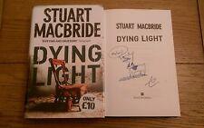 Dying Light SIGNED & DOODLED Stuart MacBride HB Book 2006 1st Edition Impression