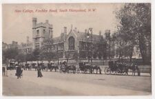 New College, Finchley Road South Hampstead London Charles Martin Postcard, B725