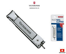 Victorinox Stainless Steel Multi Nail Clipper Made in Swiss 8.2055.CB