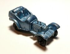 Vintage Tootsie Toy Light Blue Rat Rod Roadster Hot Rod USA Jalopy