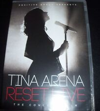 Tina Arena Reset Live The Tour Concert Film (Australia All Region) DVD – New