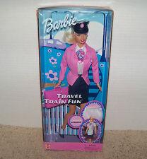 Travel Train Fun Barbie (Conductor & hostess) 2001 #55807 NRFB