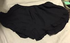 brandy melville Plain Rayon Navy Vodi Shorts New🌺😍🌹