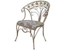 Sessel Gartenstuhl Terrassenstuhl Gartensessel Metall Sesseel Vintage Stuhl