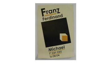 Franz Ferdinand Poster Frans Michael Promo Cube
