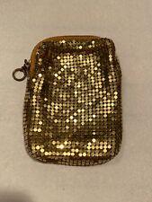 Vintage Whiting & Davis Co Gold Mesh Cigarette Case