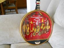VINTAGE VIETNAM MINIATURE Music Stringed Instruments in Case Display